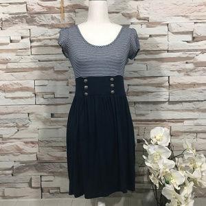 Soprano Mini Dress Sz L (H03)